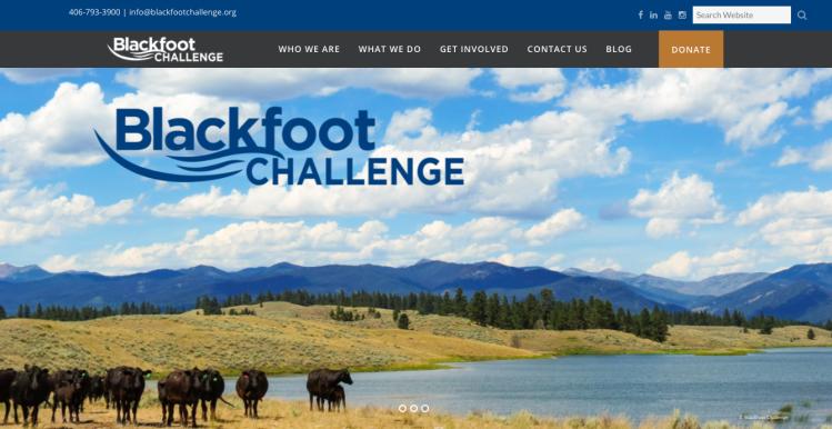 Blackfoot Challenge Homepage